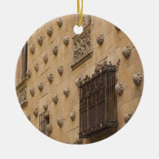Casa de las Conchas, House of Shells Ceramic Ornament