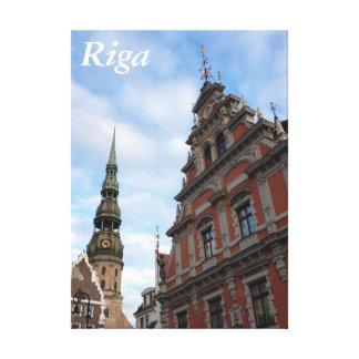 Casa de las espinillas Riga Letonia