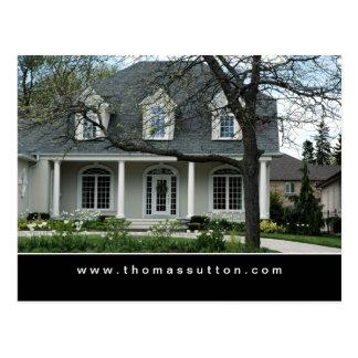 Casa de las postales de las propiedades inmobiliar