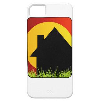Casa de las propiedades inmobiliarias funda para iPhone 5 barely there