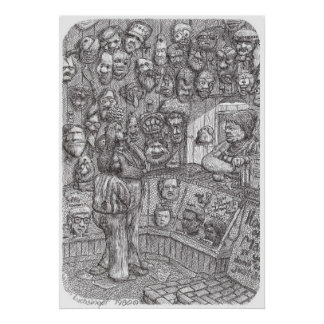 Casa de máscaras - poster