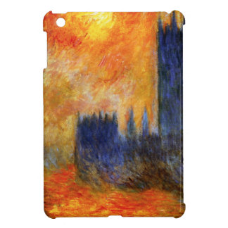 Casa de Monet del parlamento y de la puesta del so iPad Mini Cobertura