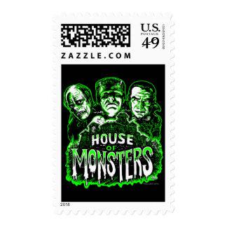 Casa de monstruos sellos