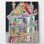 Casa de muñecas mágica placas de madera