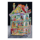 Casa de muñecas mágica posters