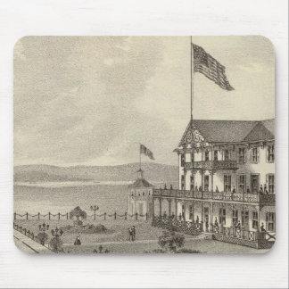 Casa de Neptuno, playa del océano, NJ Tapete De Ratones
