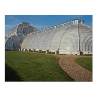 Casa de palma, jardines de Kew, Londres, Inglaterr Postal