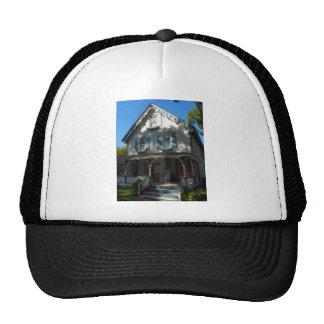 Casa de pan de jengibre 11 gorras de camionero