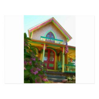 Casa de pan de jengibre 26 postales