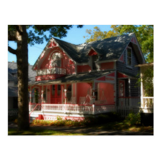 Casa de pan de jengibre 30 tarjeta postal