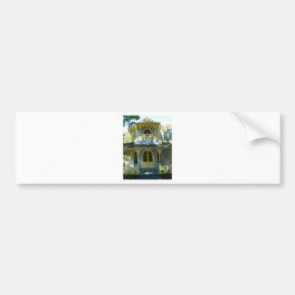 Casa de pan de jengibre 31 pegatina para auto