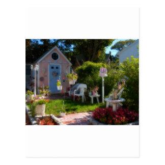 Casa de pan de jengibre 33 postal