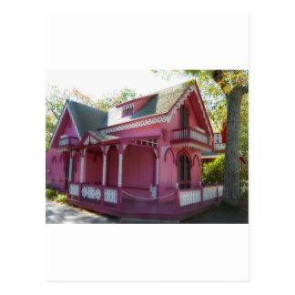 Casa de pan de jengibre 7 tarjetas postales