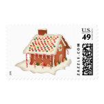 Casa de pan de jengibre del navidad del KRW Franqueo