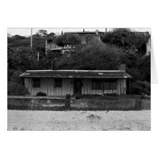 Casa de planta baja de la playa de Newport Tarjeta De Felicitación