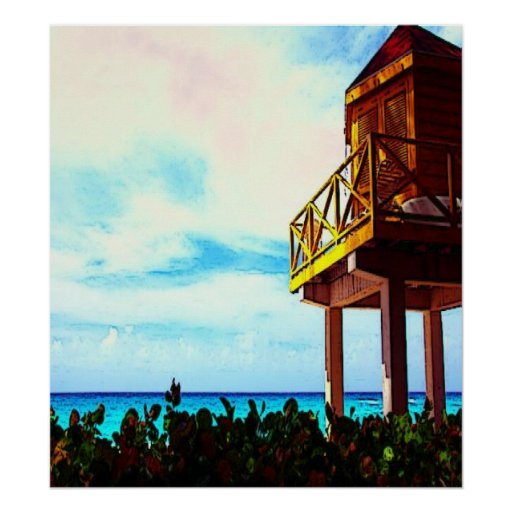 Casa de playa con vista al mar impresiones