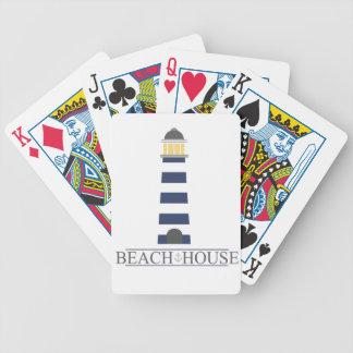 Casa de playa. Faro náutico de los azules marinos Barajas