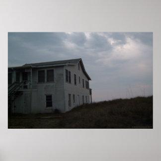 Casa de playa - isla del roble, NC - impresión Posters