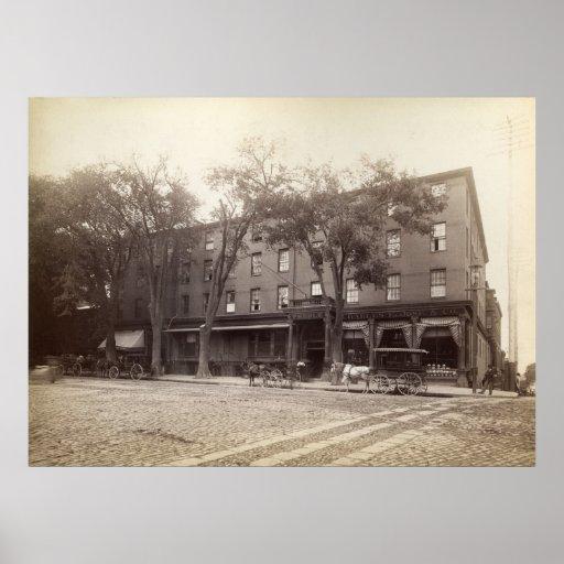 Casa de Portland, Maine Preble circa 1890 Posters