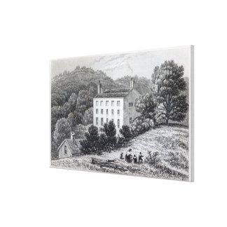 Casa de Quebec Impresión De Lienzo