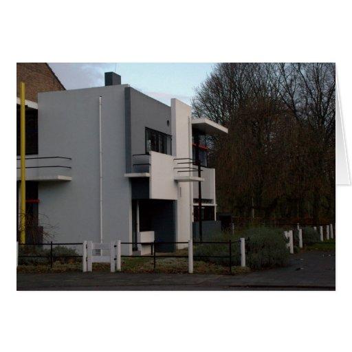 Casa de Rietveld Schröder, Utrecht Tarjeta De Felicitación