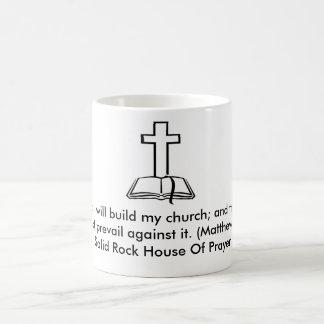 Casa de roca sólida de la taza del rezo