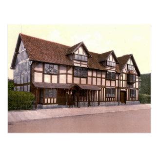 Casa de Shakespeare Tarjetas Postales