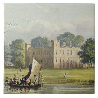 Casa de Sion, Repos de R. Ackermann (1764-1834) de Azulejo Cuadrado Grande