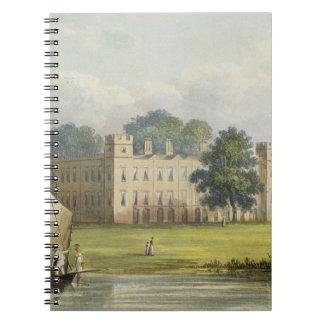 Casa de Sion, Repos de R. Ackermann (1764-1834) de Libreta Espiral