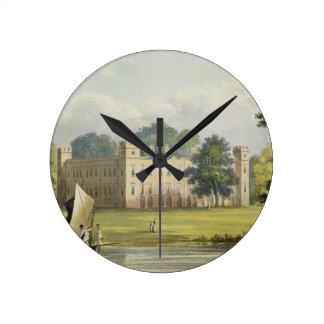 Casa de Sion, Repos de R. Ackermann (1764-1834) de Reloj Redondo Mediano