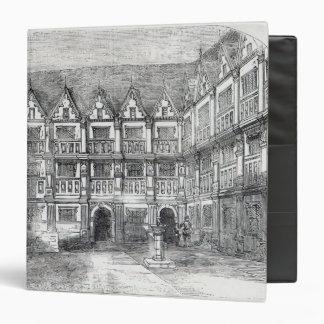 "Casa de sir Thomas Gresham Carpeta 1 1/2"""