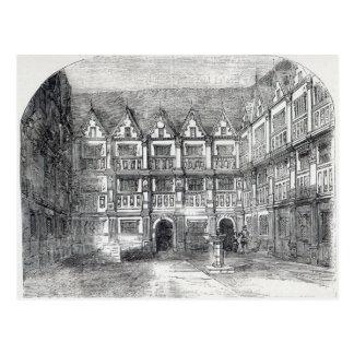 Casa de sir Thomas Gresham Tarjeta Postal