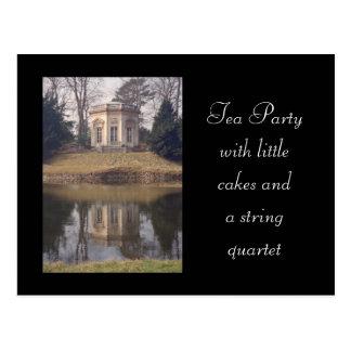 Casa de té de Versalles Postal