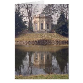 Casa de té de Versalles Tarjeta De Felicitación