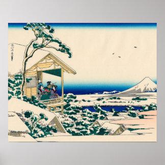 Casa de té en Koishikawa Impresiones