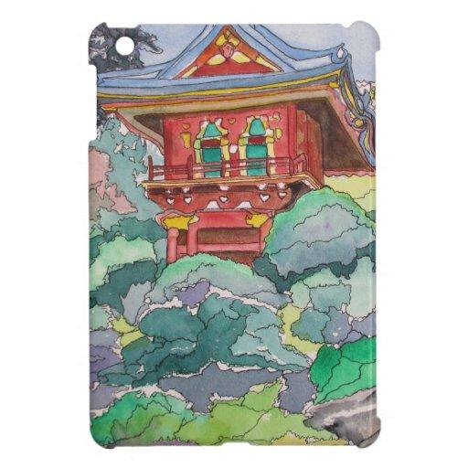 Casa de té en la pintura de la acuarela de San Fra