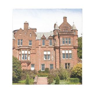 Casa de Threave, Escocia, Reino Unido 2 Bloc De Notas