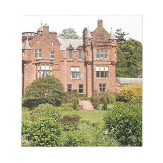 Casa de Threave, Escocia, Reino Unido 3 Bloc De Notas