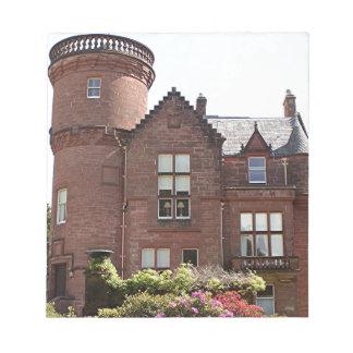 Casa de Threave, Escocia, Reino Unido Libreta Para Notas
