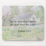 Casa de Van Gogh del 24:15 de Joshua Mouse Pad