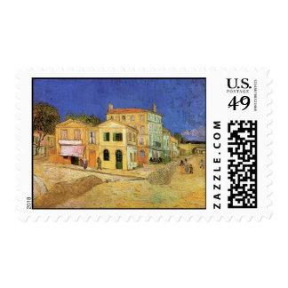 Casa de Van Gogh Vincent en Arles, bella arte Sello Postal