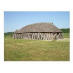Casa de Viking Tarjeta Postal