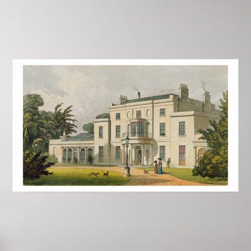 Casa de Wimbledon, depósito de Ackermann del 'de A Poster