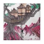 Casa del árbol azulejos ceramicos