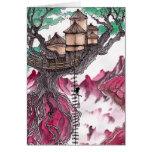 Casa del árbol felicitación