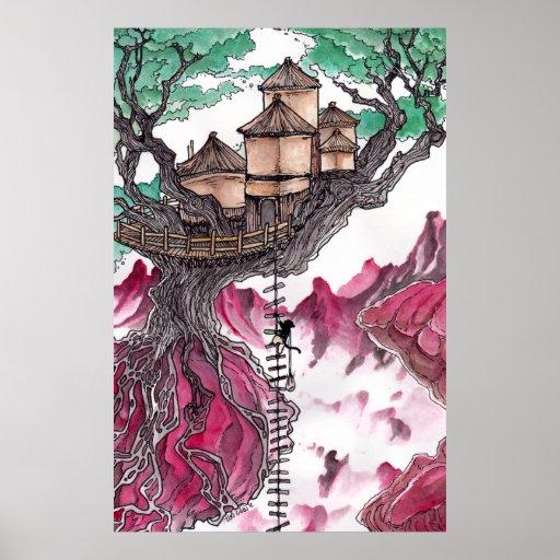 Casa del árbol impresiones