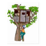 Casa del árbol postales