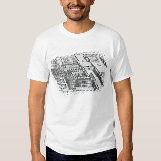 Casa del bádminton en el condado de Gloucester Camisas