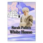 casa del blanco de los sarahs felicitaciones