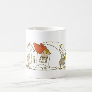 Casa del caracol tazas de café